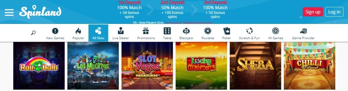 Spinland Casino Slots