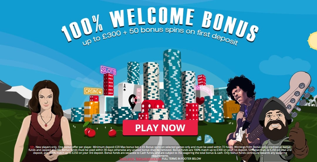 Spinland Casino Welcome Bonus