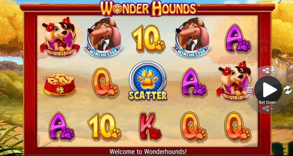 Wonder Hounds Slot Gameplay