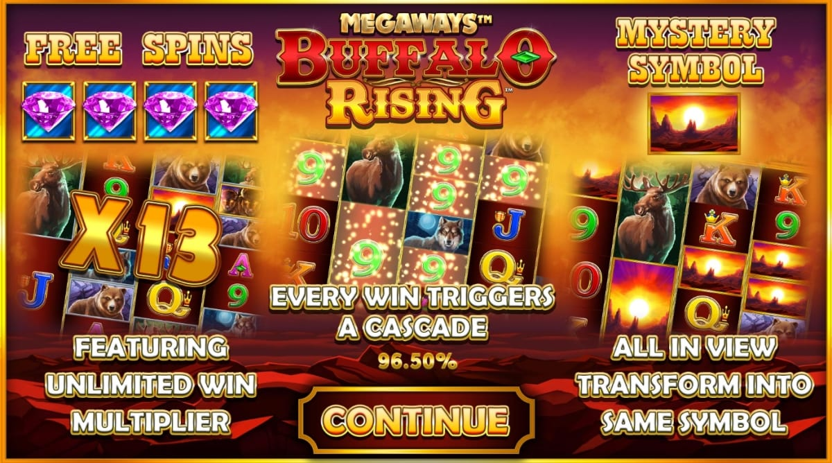 Buffalo Rising Megaways Slot Information