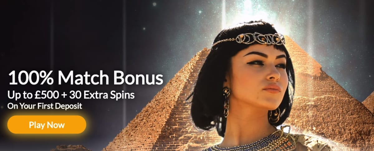 Temple Nile Casino Welcome Offer