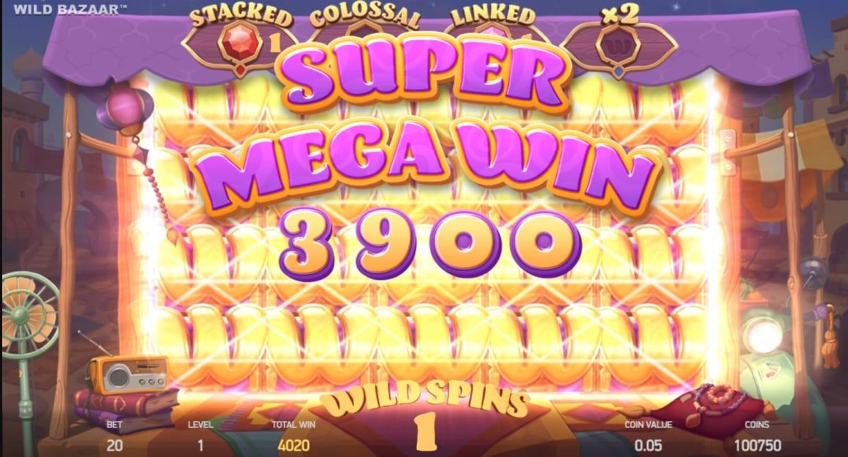Wild Bazaar Slot Big Win