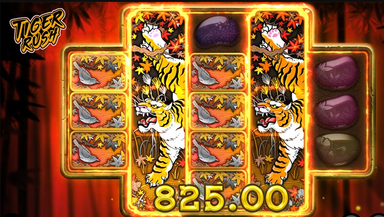 Tiger Rush Slot Gameplay
