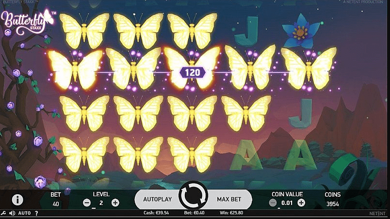 Butterfly Staxx Slot Big Win