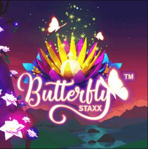 Butterfly Staxx Slot Logo