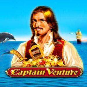 Captain Venture Slot Logo