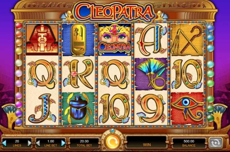 Cleopatra Slot Game Play