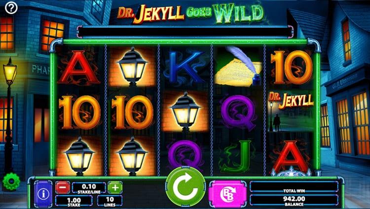 Dr Jekyll Goes Wild Slot Gameplay