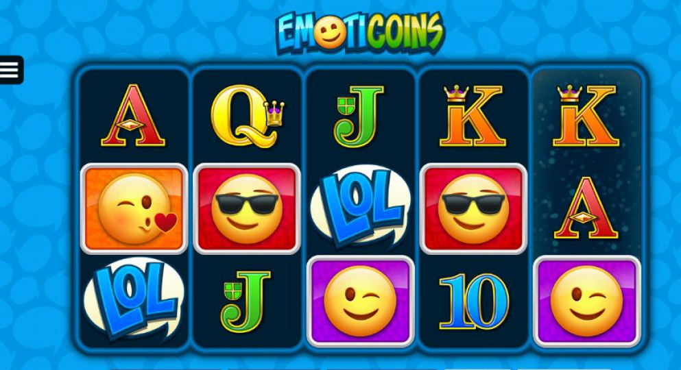 Emoticoins Slot Game Play