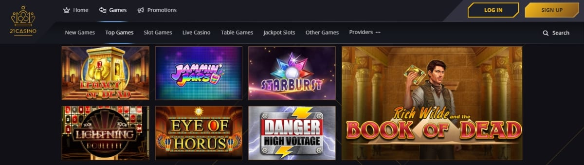 21 Casino Slots And Games