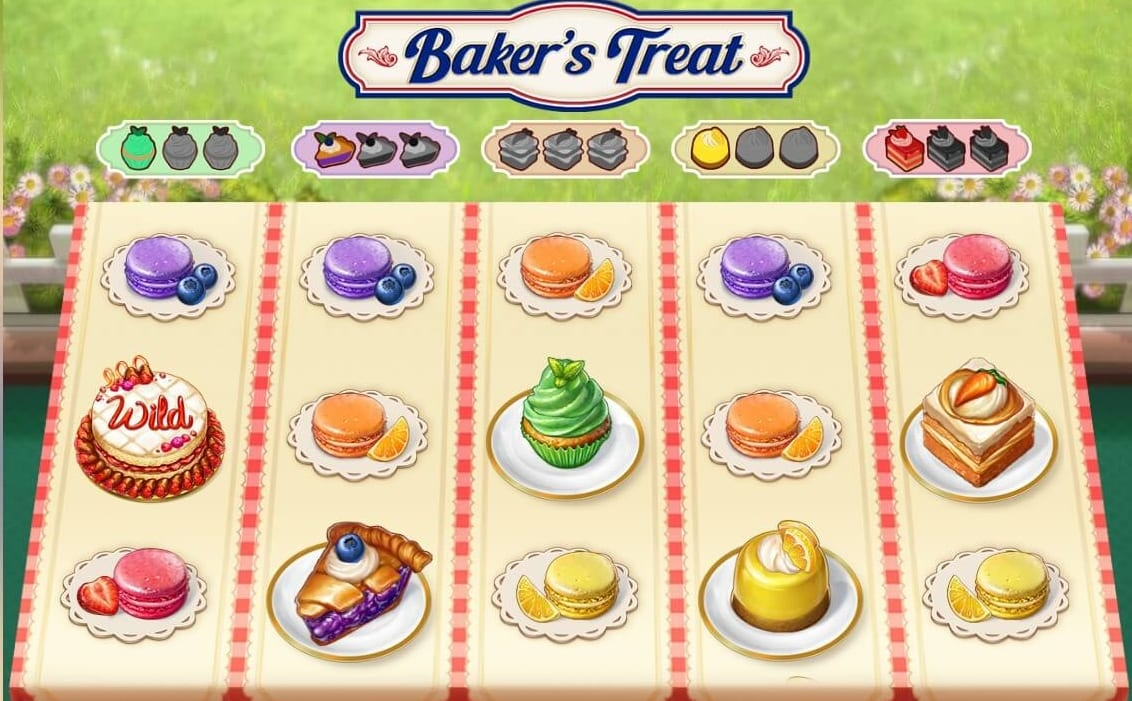 Bakers Treat Slot Game Play