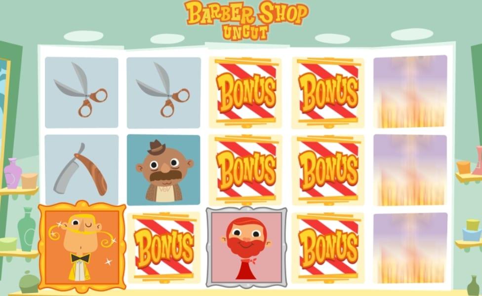 Barber Shop Uncut Slot Bonus