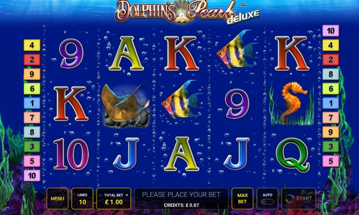 Dolphins Pearl Slot Gameplay