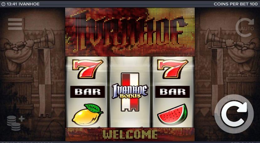 Ivanhoe Slot Game Play