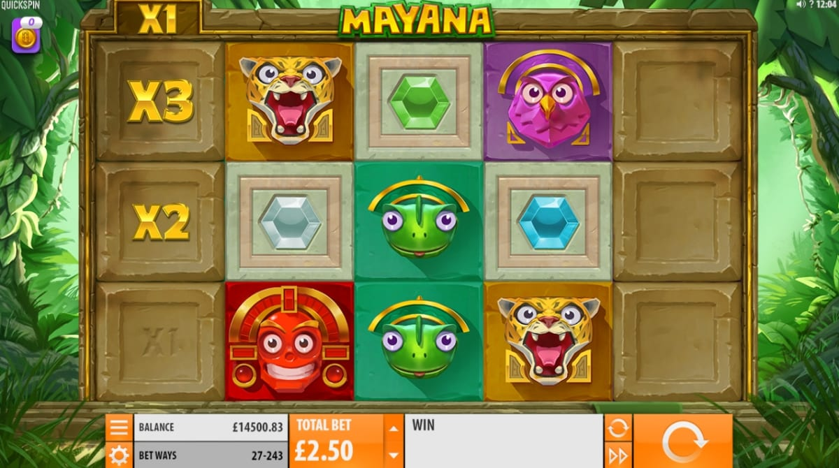 Mayana Slot Game Play