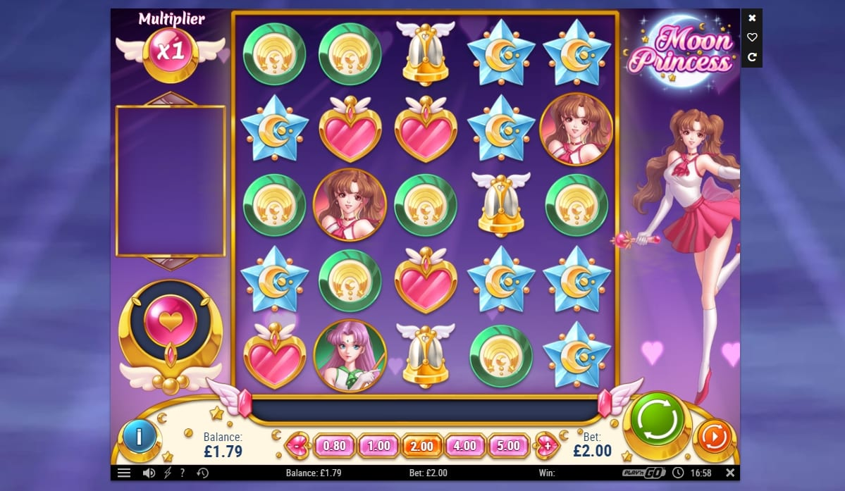 Moon Princess Slot Game Play