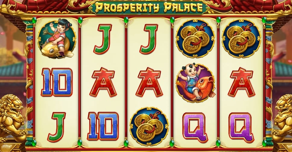 Prosperity Palace Slot Game Play