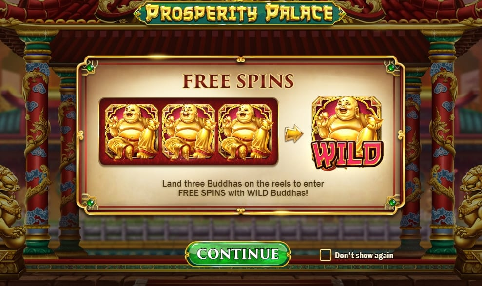 Prosperity Palace Slot Information