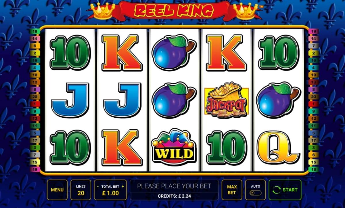 Reel King Slot Game Play