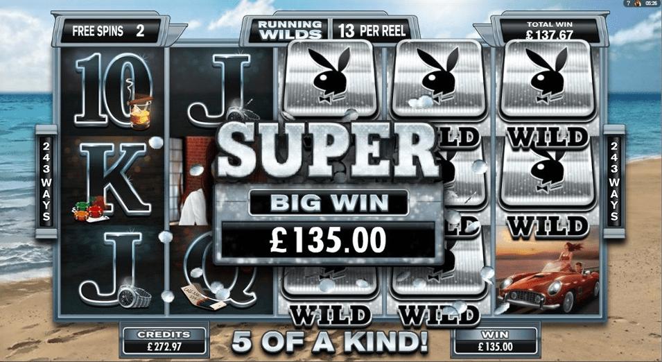 Playboy Slot Big Win