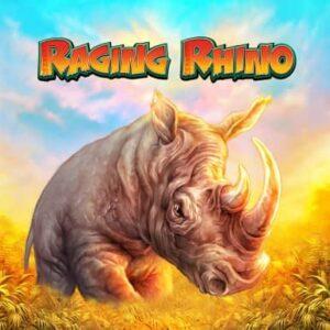 Raging Rhino Slot Logo