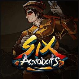 Six Acrobats Slot Logo