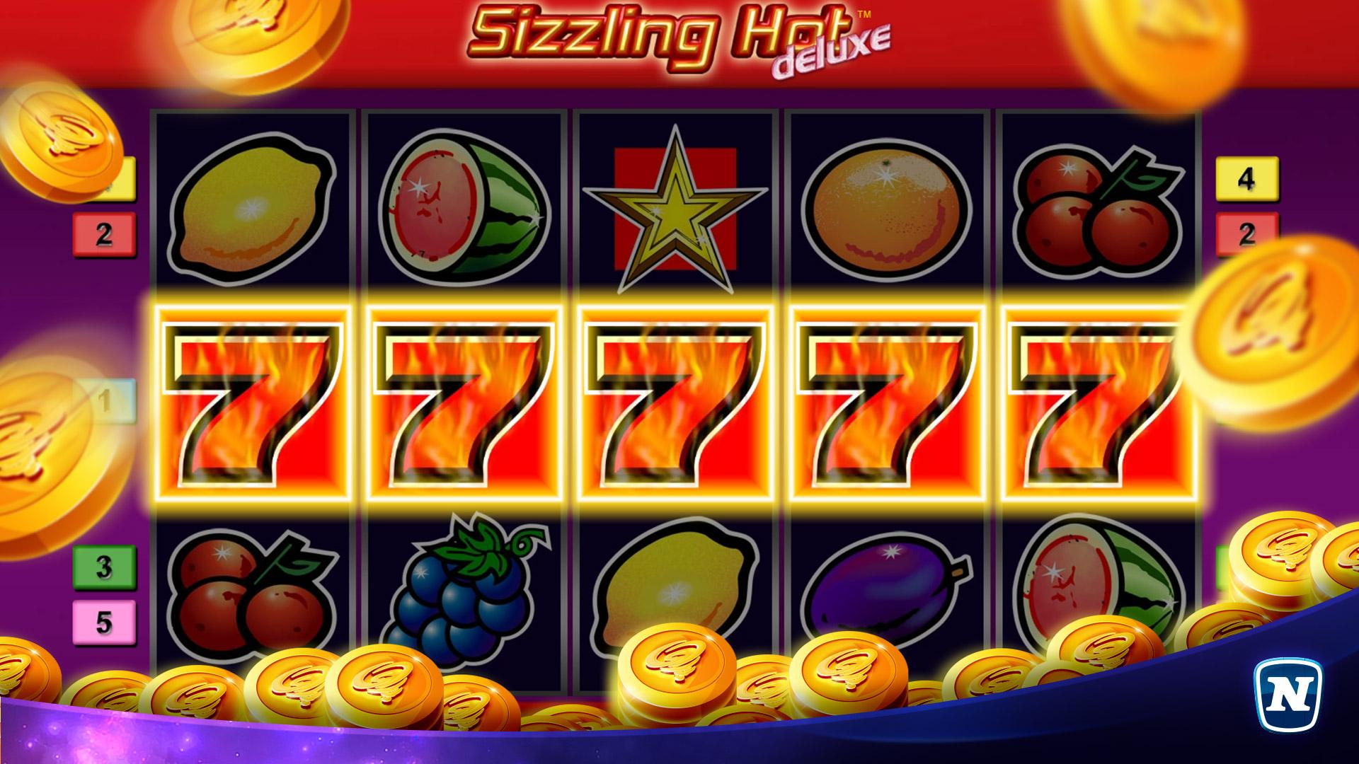Sizzling Hot Deluxe Slot Big Win