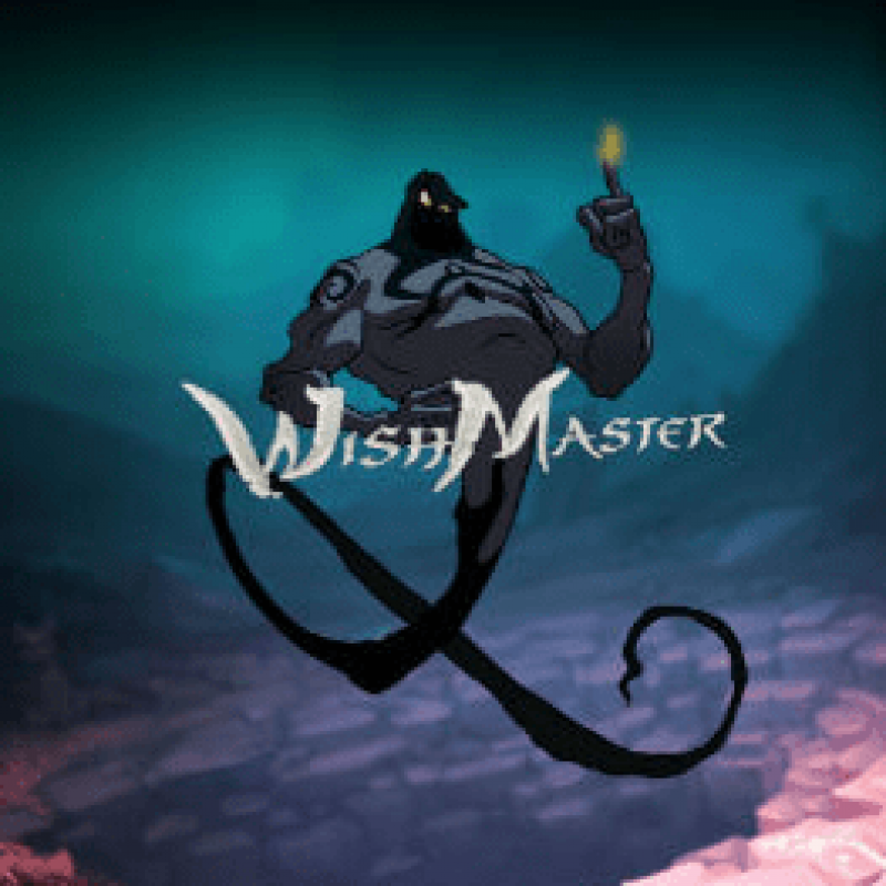 The Wish Master Slot Logo