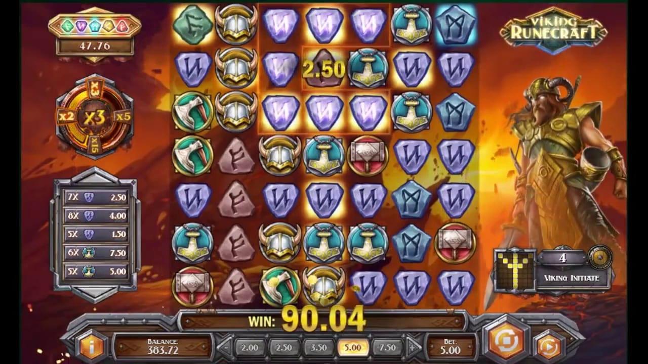 Viking Runecraft Slot Game Play