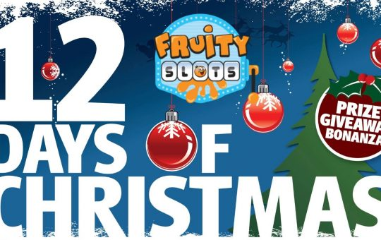 Fruity Slots 12 Days of Xmas Giveaway