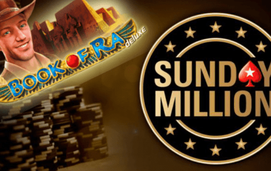 £2 Book of Ra spin leads to Sunday Million Poker Final Table!