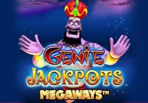 Genie Jackpots Megaways Slot Logo