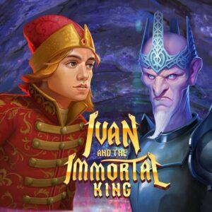 Ivan The Immortal King Slot Logo