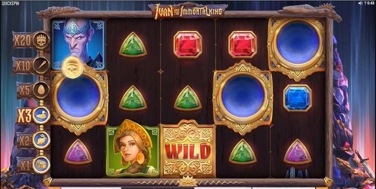 Ivan the Immortal King Slot Game Play