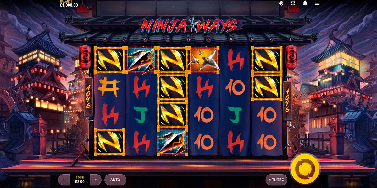 Ninja Ways Slot Game Play