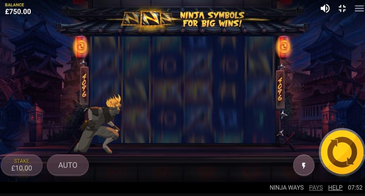 Ninja Ways Slot Feature