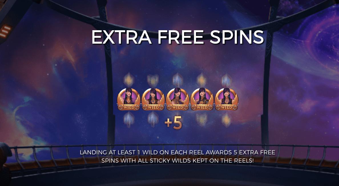 Cazino Cosmos Slot Free Spins