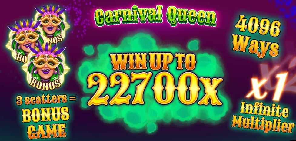 Carnival Queen Slot Paytable