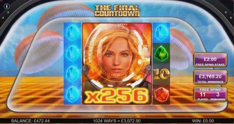 The Final Countdown Slot Big Wn