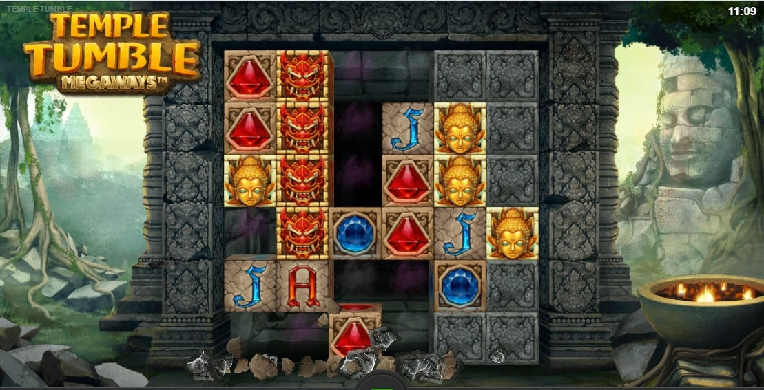 Temple Tumble Megaways Slot Game play