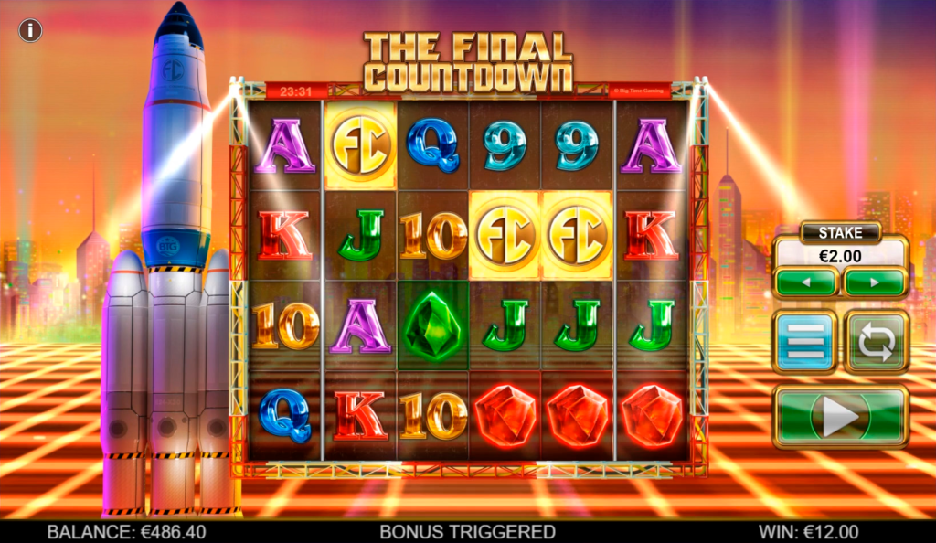 The Final Countdown Slot Bonus