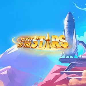Ticket To The Stars Slot Logo