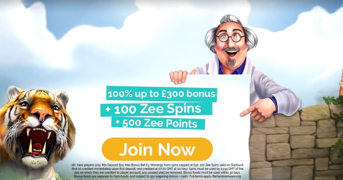 Playzee Casino Deposit Bonus