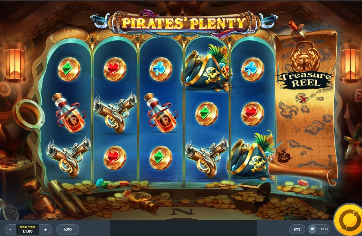 Pirates Plenty Slot Game play