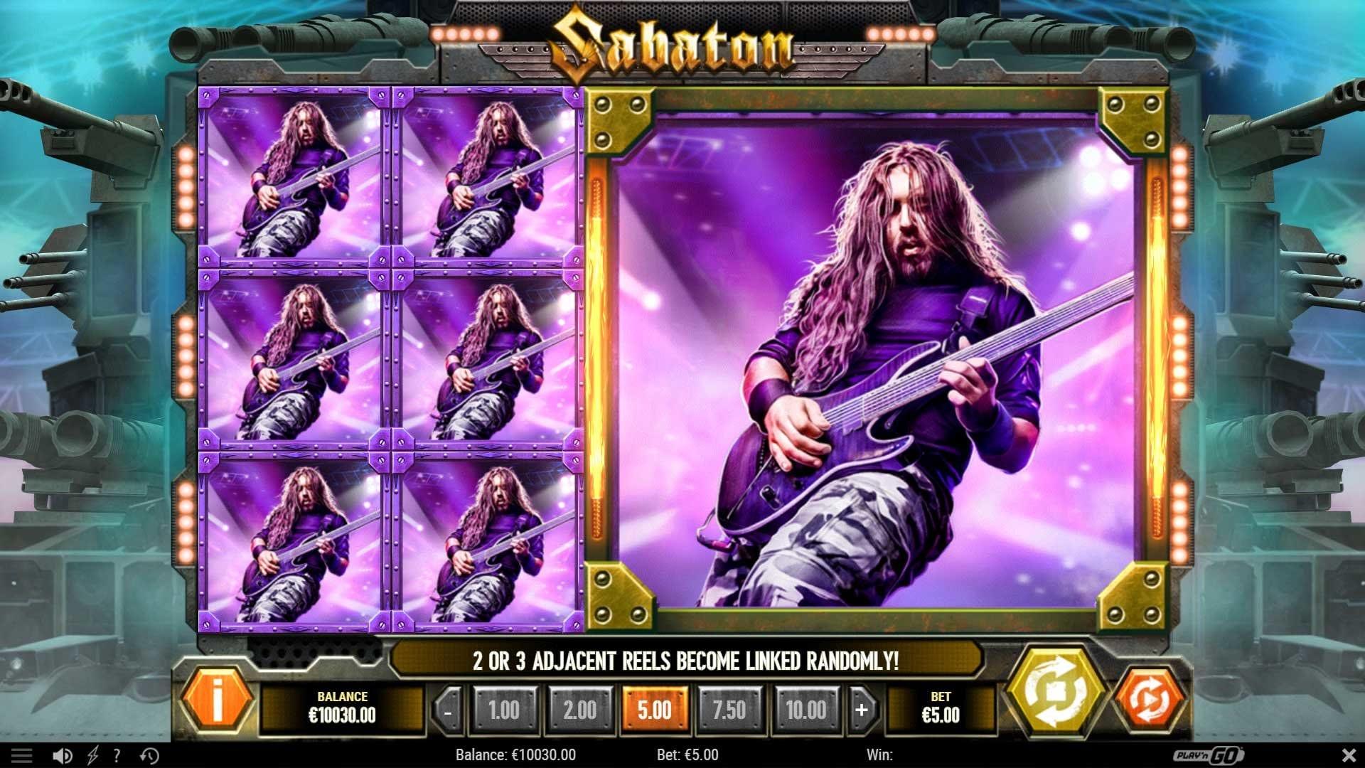 Sabaton Slot Big Win