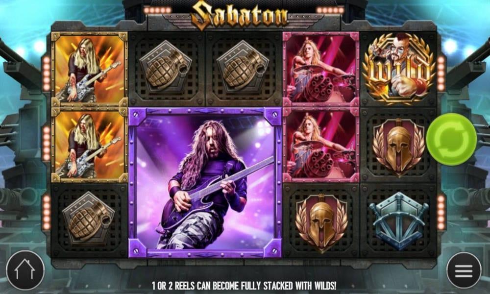 Sabaton Slot Gameplay