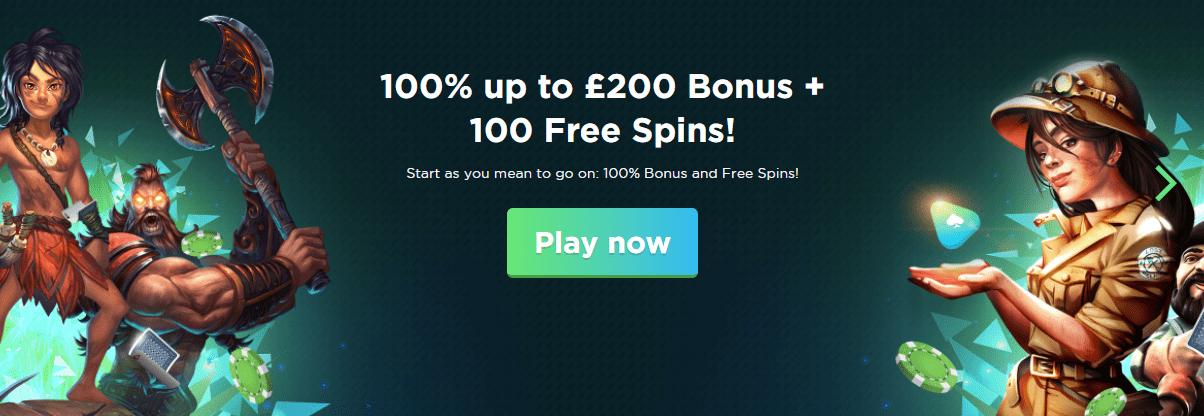 Spela Casino Welcome Offer