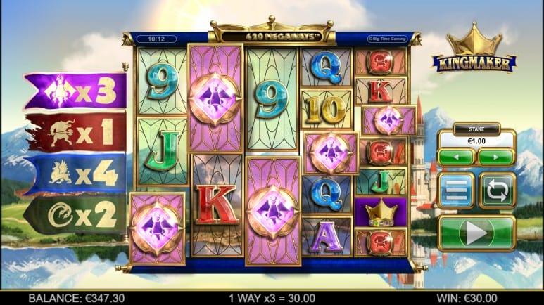 king maker slot review