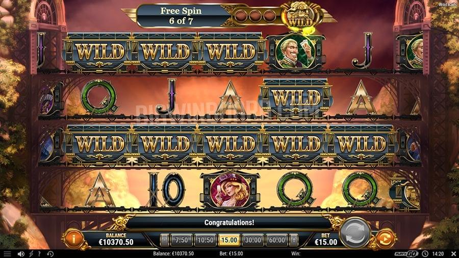 Wild Rails Slot Review