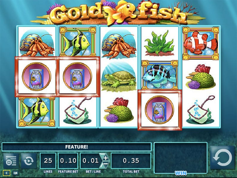 gold fish slot review
